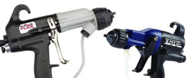 Electrostatic spray guns